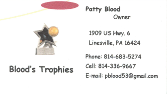 Blood's Trophies